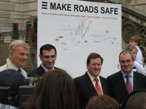 serious support for Make Roads Safe